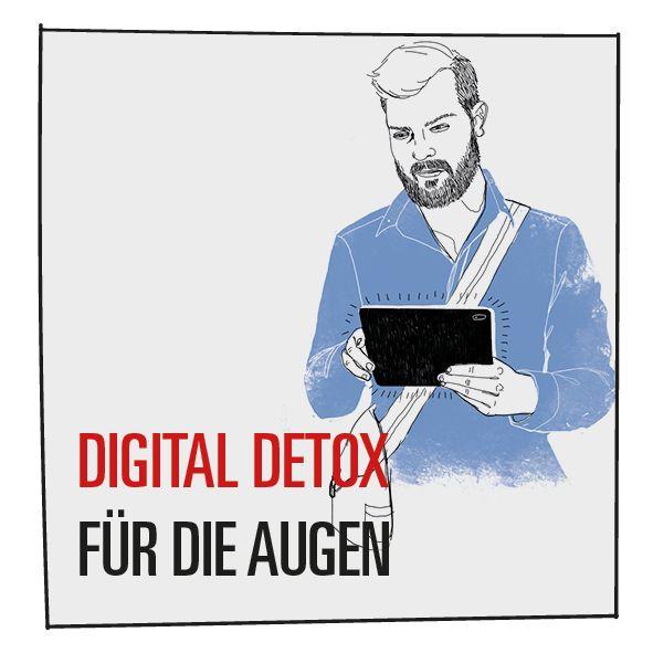 Digital Detox: Nutzer schaltet sein Tablet offline